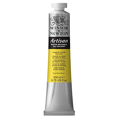 Winsor and Newton Artisan Water Mixable Oil Colour 200ml Cadmium Yellow Pale from Winsor & Newton