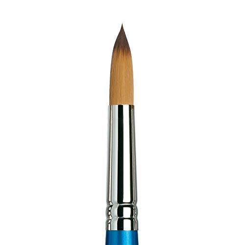 Winsor & Newton Brush, Wood, Transparent, No 16 -. 11.5 mm, round - brush, short handle from Winsor & Newton