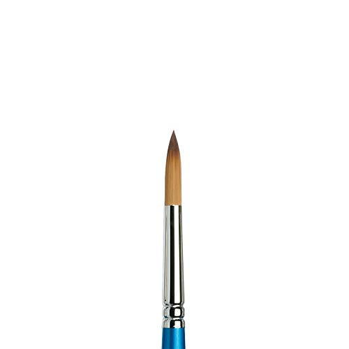 Winsor & Newton Brush, Wood, Transparent, No 9 -. 5.6 mm, round - brush, short handle from Winsor & Newton