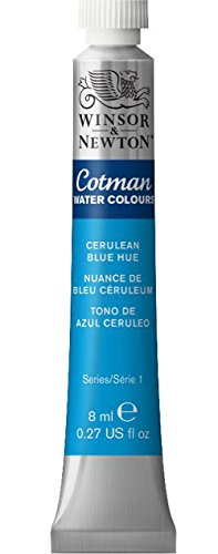 Winsor & Newton Cotman 8ml Water Colour Tube - Cerulean Blue Hue from Winsor & Newton