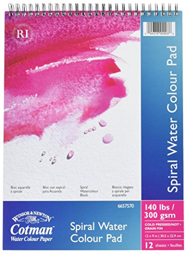 Winsor & Newton Cotman Water Colour Paint Pad Spiral (12x9inch) from Winsor & Newton