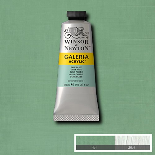 Winsor & Newton Galeria Acrylic Paint Medium Tube 60ml AVAILABLE (Pale Olive) from Winsor & Newton