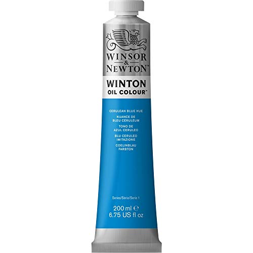Winsor & Newton Winton 200ml Oil Colour - Cerulean Blue Hue,1437138 from Winsor & Newton