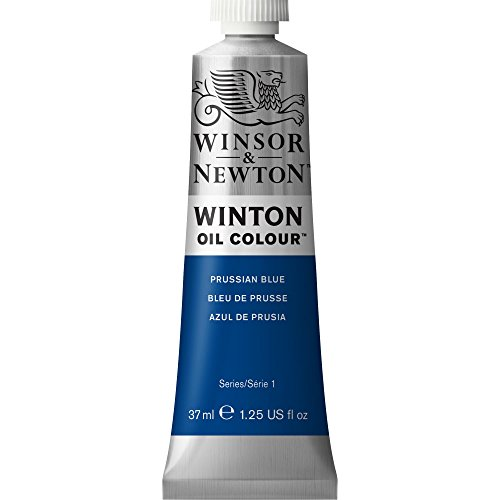 Winsor & Newton Winton Oil Colour Tube, 37 ml - Prussian Blue,1414538 from Winsor & Newton