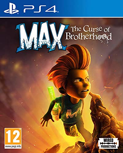 Max The Curse of Brotherhood (PS4) from Wired Productions