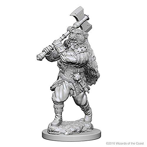 Dungeons & Dragons: Nolzur's Marvelous Unpainted Minis: Human Male Barbarian from WizKids