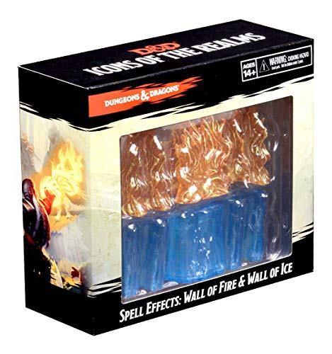 WizKids D&D Icon of the Realms: Spell Effects: Wall of Fire & Wall of Ice from WizKids