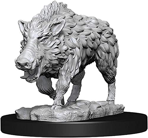 WizKids: Deep Cuts Unpainted Miniatures: Wild Boar from WizKids