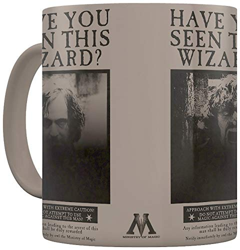 Pyramid SCMG25012 Harry Potter Mug THERMIQUE Wanted Sirius Black, Porcelain, Multi Coloured from Pyramid