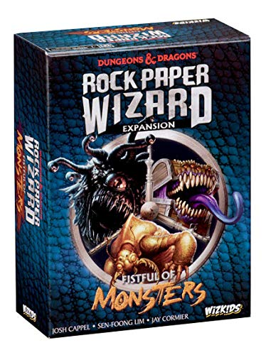 Dungeons & Dragons - Rock Paper Wizard Fistful Of Monsters Expansion from WizKids