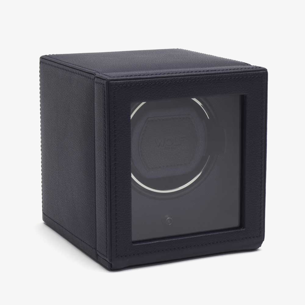 Wolf Cub With Cover Blue Watch Winder 461117 from Wolf