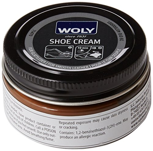 Woly Unisex-Adult Shoe Cream Shoe Treatments & Polishes, Brown (Coffee), 50.00 ml from Woly