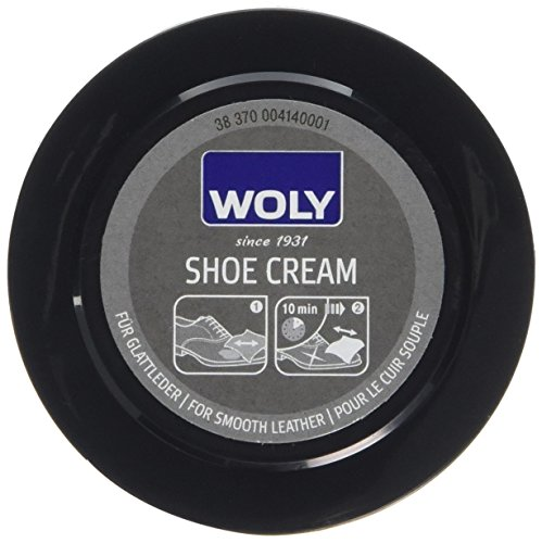 Woly Unisex-Adult Shoe Cream Shoe Treatments & Polishes, Brown (Dark Brown), 50.00 ml from Woly