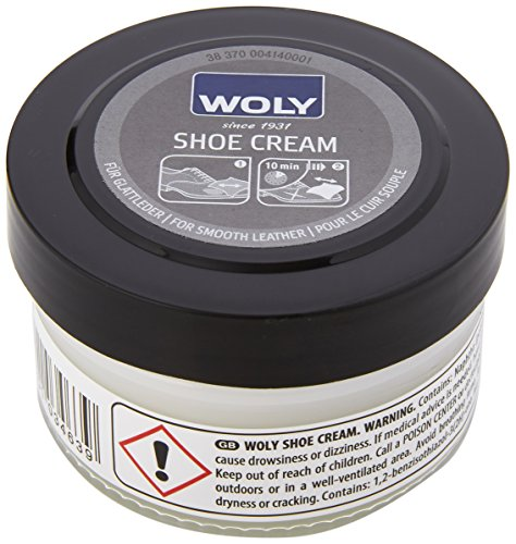 Woly Unisex-Adult Shoe Cream Shoe Treatments & Polishes, Transparent (Neutral), 50.00 ml from Woly
