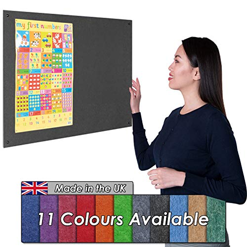 Including Green Trim 6 Colours Available Wonderwall Frameless Whiteboard 90 x 60CM with Coloured Edges for Schools Offices /& Home