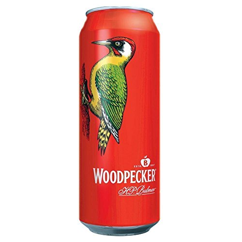 Woodpecker Sweet Apple Cider (24 x 500ml Cans) from Woodpecker
