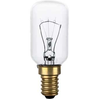 Bulb for Oven/Stove. Power: 40 W E14 Socket T29 heat-resistant up to 300 °C lfo135 lfo005 from Wpro