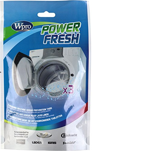 Wpro Powerfresh Washing Machine Cleaning Tabs from Wpro