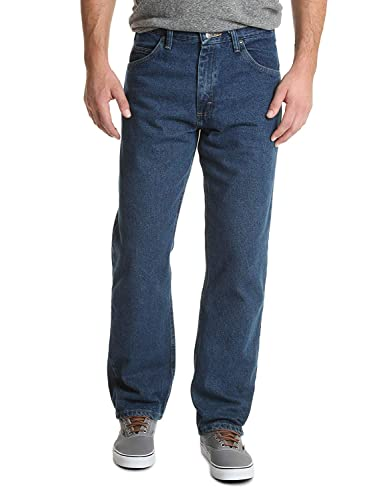 Wrangler mens  Authentics Mens Classic Relaxed-fit Jean Jeans  -  blue - from Wrangler