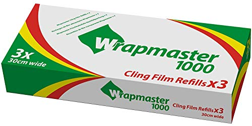 Wrapmaster 1000 clingfilm refills x 3 rolls 100m each from Wrapmaster