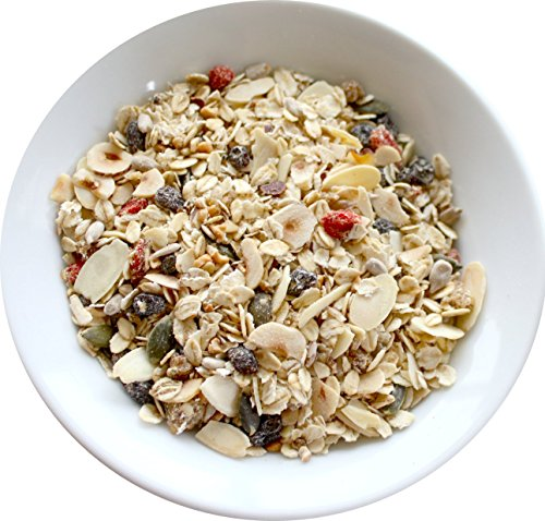 Gluten Free Muesli (1.5kg) with Mulberries, Goji Berries & 7 Types of Toasted Nuts & Seeds, Suitable for Coeliacs, Vegan, Dairy-Free from Wyldsson