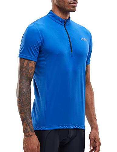 7c9ebcf280b Men's Short Sleeve Cycling Jersey Cycle Riding Jerseys Biking Shirt with  Quick Dry Breathable Fabric (. found at Amazon Marketplace