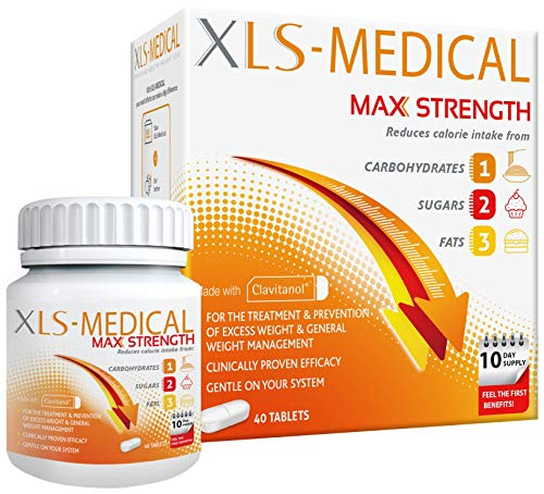 X L S - Medical Max Strength 40 Tablets from XLS Medical