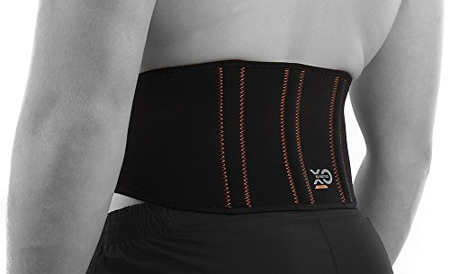 XO Kinetics COPPER COMPRESSION LOWER BACK LUMBAR SUPPORT BELT - Best for sport or work related low back pain - Extra comfortable lightweight design for both Men and Women. Size 28-35 inch from XO Kinetics