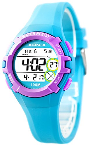 Multifunction XONIX WristWatch - Women's and Kids', Water Resistant 100m, XIO92HZ8G2/2 from XONIX
