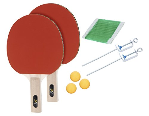 XQ Max Unisex Table Tennis Set Incl. Net, Red from XQ Max