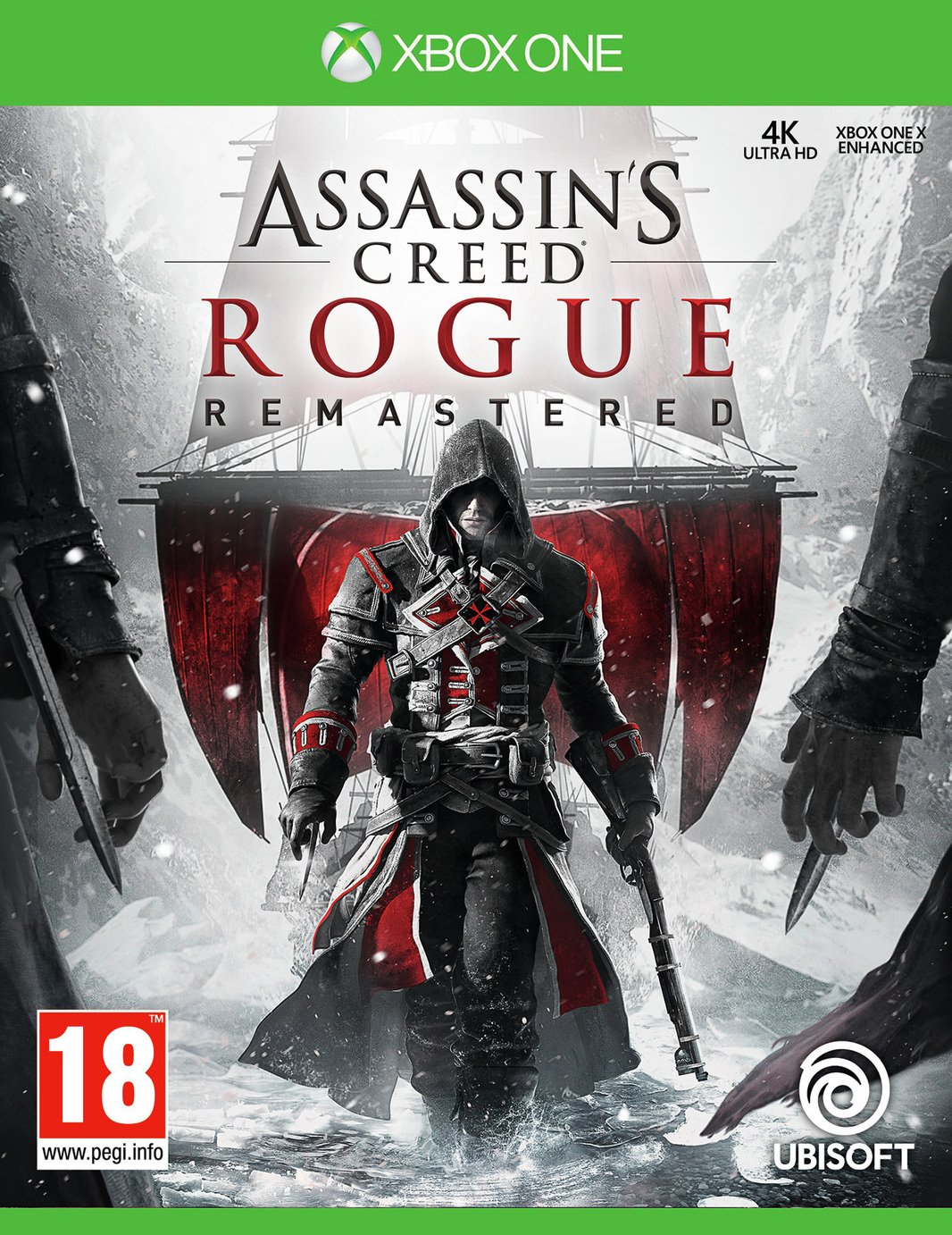 Assassin's Creed Rogue HD Xbox One Game from Xbox One X Enhanced