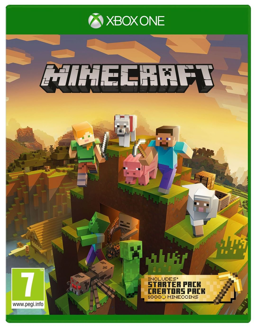 Minecraft Bedrock Master Collection Xbox One Game from Xbox