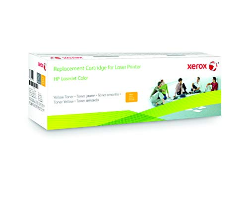 Xerox HP 131A yellow toner cartridge equivalent, for use in HP CLJ Pro 200 M251, 200 MFP M276 from Xerox