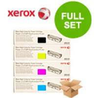 Original Multipack Xerox Phaser 6121 Printer Toner Cartridges (4 Pack) -CB-106R01466-9BK/C/M/Y_10759 from Xerox