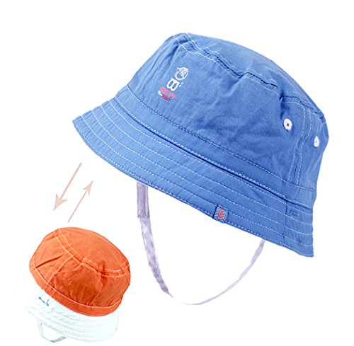 Xiaoyu 2 in 1 Double-sided Unisex Baby Sun Hats, Baby and Toddler Boys Girls from Xiaoyu