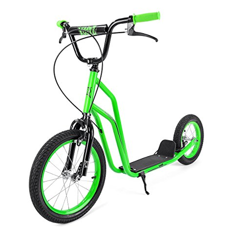 Xootz BMX Stunt Scooter for Kids, Ideal for Beginner and Intermediate Riders - Green from Xootz