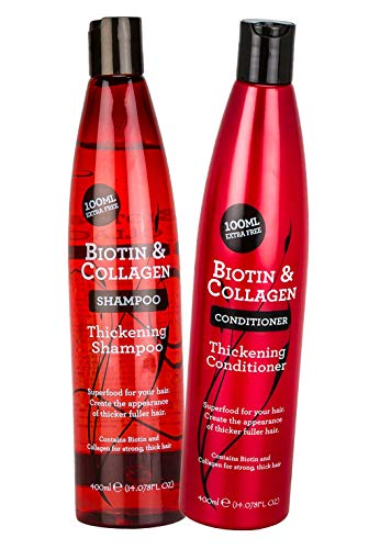 :Biotin & Collagen Thickening Shampoo 400 ml and Biotin & Collagen Conditioner 400 ml Duo from Xpel