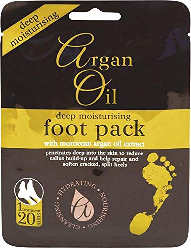 Multi Pack Deep Moisturising Foot Pack with Morrocan Argan Oil Extract - 3 Packs. from Xpel