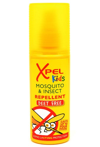 Xpel Kids Mosquito & Innsect Replent 70ml (DEET FREE) Pump Spray from Xpel