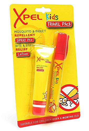 Xpel Kids Mosquito and Insect Repellent Spray Pen, Bite and Sting Lotion Twin Set from Xpel