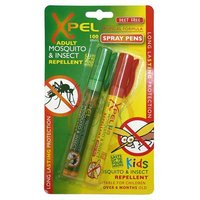 Xpel Mosquito and insect repellent and bite and sting relief spray pens 100 sprays from Xpel