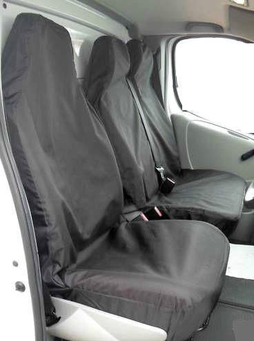 XtremeAuto® Universal Black Extra Heavy Duty Van Seat Covers Set from XtremeAuto