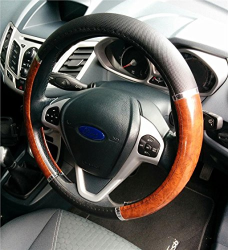 XtremeAuto® Car Steering Wheel Glove Covers (Wooden) from XtremeAuto