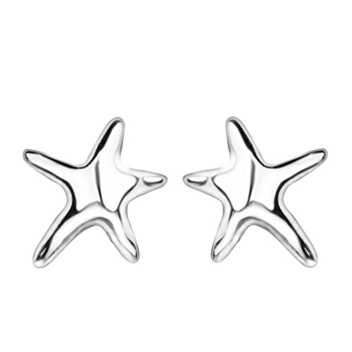 YAZILIND Little Starfish 925 Sterling Silver Stud Earrings from YAZILIND