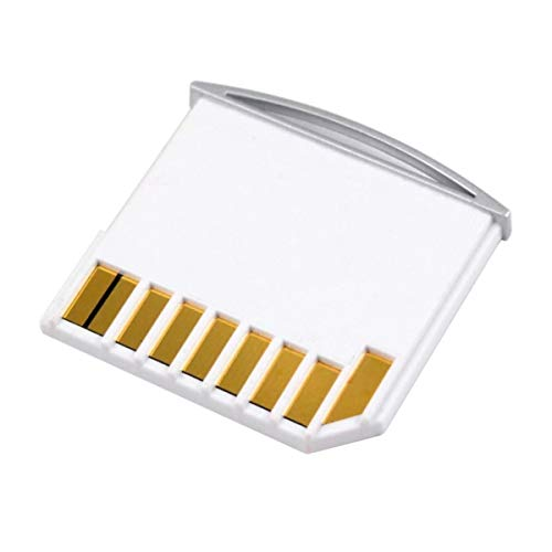 CY Micro SD TF to SD Card Kit Mini Adaptor for Extra Storage Macbook Air / Pro / Retina White from YC