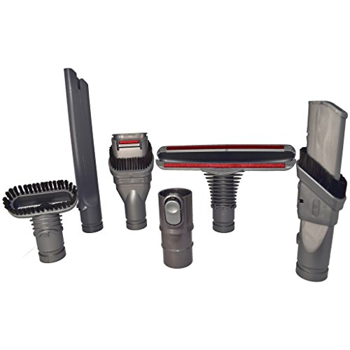 for Dyson Vacuum Cleaner Complete Tool Accessories Set by Yourspares Fits DC23 T2, DC24, DC25, DC26, DC27, DC28 and DC29 from YOURSPARES