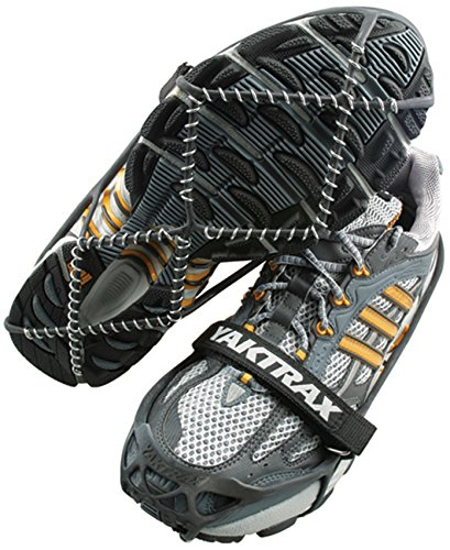 YakTrax Unisex's Pro Traction, Silver, S UK 5-8 from YakTrax
