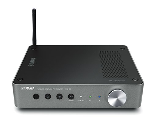 Yamaha MusicCast WXC50 Wireless Streaming Pre-Amplifier with Airplay, Bluetooth and Hi-Res Audio from Yamaha