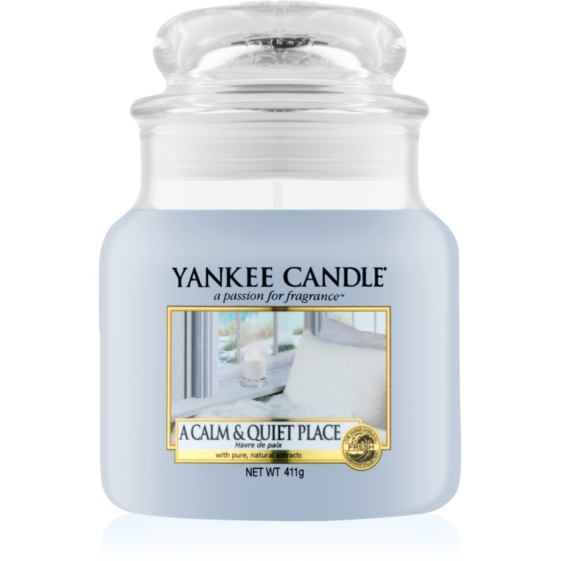 Yankee Candle A Calm & Quiet Place scented candle Classic Large 411 g from Yankee Candle