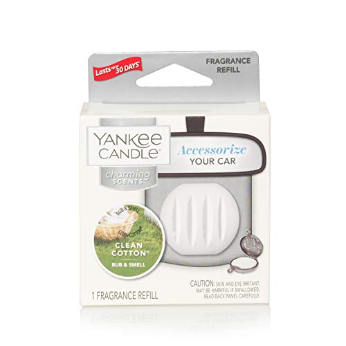Yankee Candle Clean Cotton Charming Scents Fragrance Refill, One Size from Yankee Candle